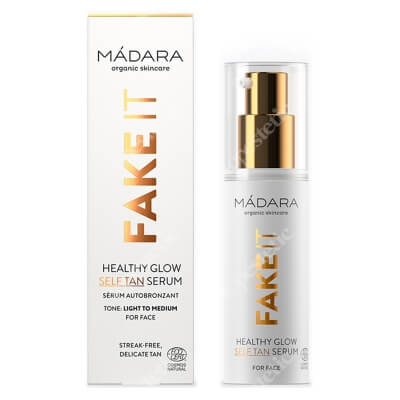 Madara Fake It Healthy Glow Samoopalające serum do twarzy 30 ml