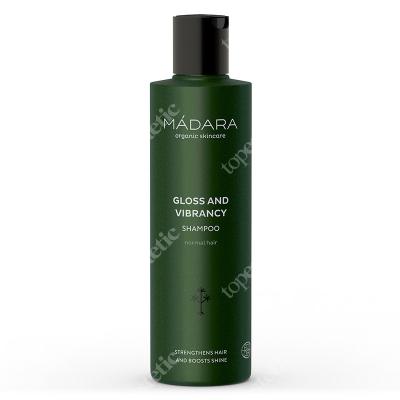 Madara Gloss and Vibrancy Shampoo Szampon blask i sprężystość250 ml