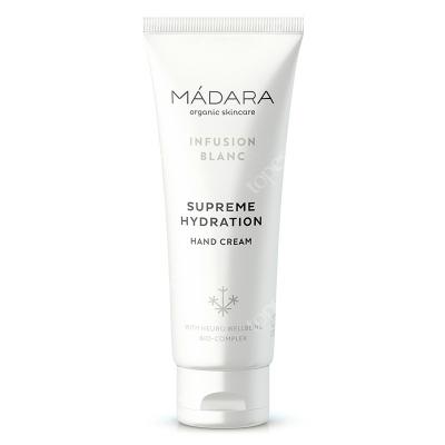 Madara Infusion Blanc Hand Cream Nawilżający krem do rąk 75 ml