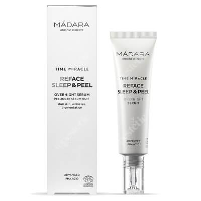 Madara Time Miracle Reface Sleep & Pell Złuszczające serum na noc 30 ml