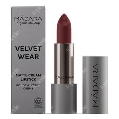Madara Velvet Wear Matte Cream Lipstic 35 Kremowa pomadka matująca (kolor 35 Dark Nude) 3,8 g