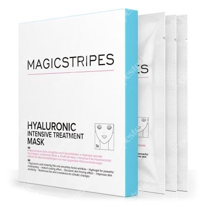 Magicstripes Hyaluronic Intensive Treatment Mask Intensywna kuracja hialuronowa 3 szt.