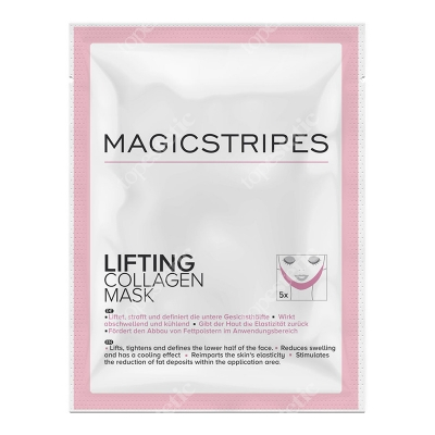 Magicstripes Lifting Collagen Mask Liftingująca maseczka kolagenowa 1 szt.