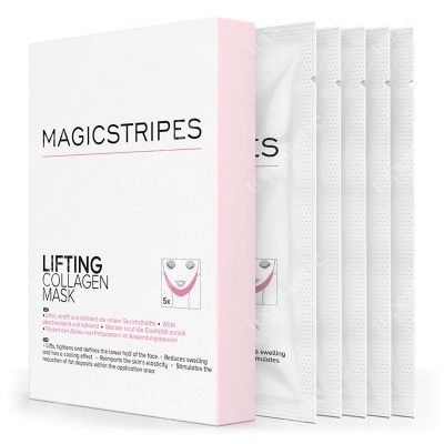 Magicstripes Lifting Collagen Mask Liftingująca maseczka kolagenowa 5 szt.