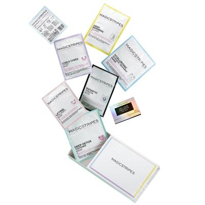 Magicstripes Magic Box ZESTAW 6 Maseczek magistripes + Rękawiczki regenerujące dłonie 1 para + Suchy szampon To Go 50 bibułek