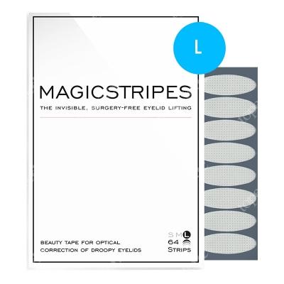 Magicstripes Magicstripes L Niewidoczne Paski liftingujące powieki (rozmiar L) 64 paski