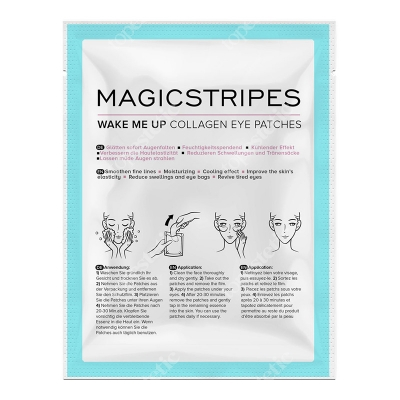 Magicstripes Wake Me Up Collagen Eye Patches Maseczka pod oczy 1 szt.