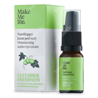 Make Me Bio Cucumber Freshness Nawilżający krem pod oczy 10 ml