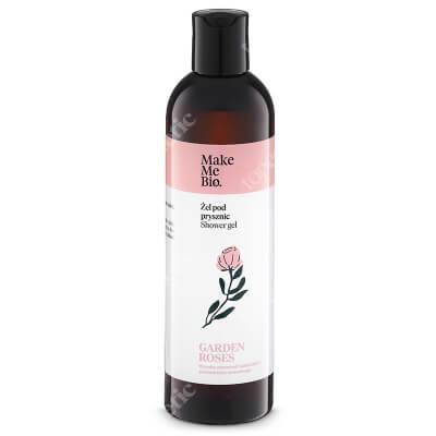 Make Me Bio Garden Roses Gel Delikatny żel pod prysznic z wodąróżaną i olejkami 300 ml