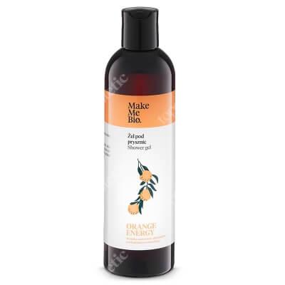 Make Me Bio Orange Energy Gel Delikatny żel pod prysznic z wodą pomarańczową i olejkami 300 ml