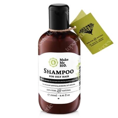 Make Me Bio Shampoo For Oily Hair Delikatnie pieniący się szampon do włosów przetłuszczających się250 ml
