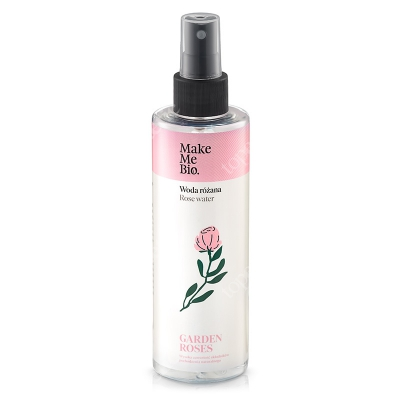 Make Me Bio Woda Różana Hydrolat z róży damasceńskiej - działa tonizująco i odżywczo 200 ml