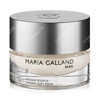 Maria Galland Creamy Soft Mask (2) Maska oczyszczająca 50 ml