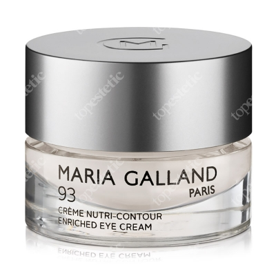 Maria Galland Enriched Eye Cream (93) Bogaty krem ceramidowy pod oczy 15 ml