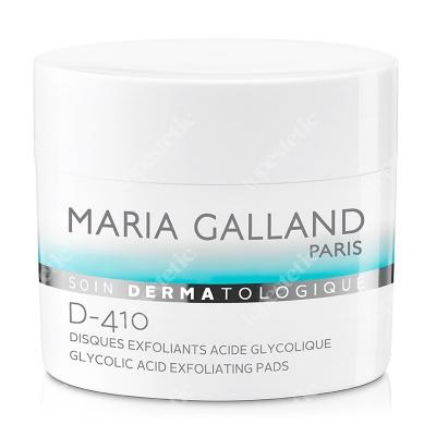 Maria Galland Glycolic Acid Exfoliating Pads (D410) Płatki złuszczające z kwasem glikolowym 60 szt.