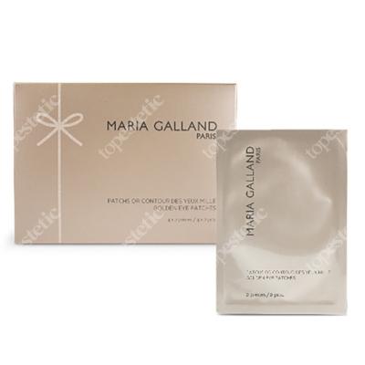 Maria Galland Mille Golden Eye Patches 2019 Złote płatki pod oczy z unikalnymi składnikami aktywnymi 1 opak