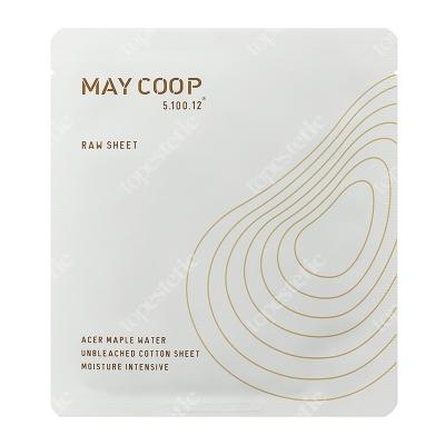 May Coop Raw Mask Sheet Intensywnie nawilżająca, odżywcza maseczka w bawełnianej płachcie 25 g