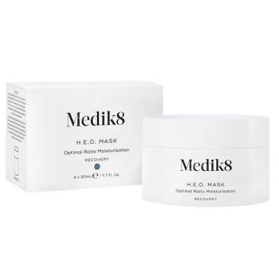 Medik8 H.E.O. Mask Dwustopniowa, głęboko nawilżająca maska na noc 2 x 50 ml