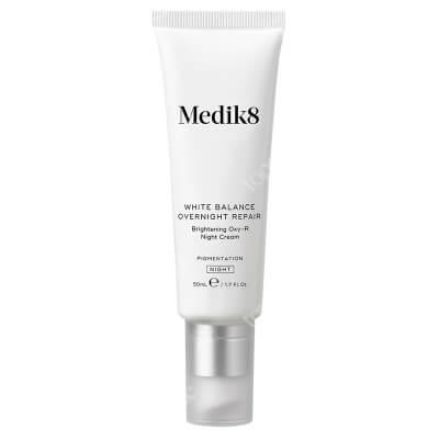 Medik8 White Balance Overnight Repair Rozjaśniający krem na noc z Oxy-R 50 ml