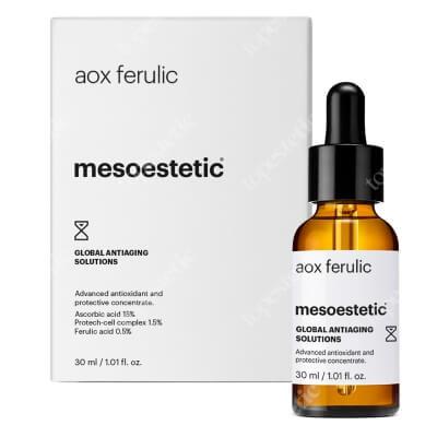 Mesoestetic AOX Ferulic Antyoksydacyjne serum z witaminą C 30 ml