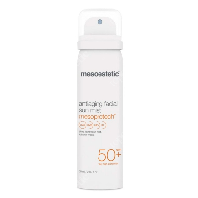 Mesoestetic Mesoprotech Antiaging Facial Sun Mist Mgiełka do twarzy SPF 50+ 60 ml