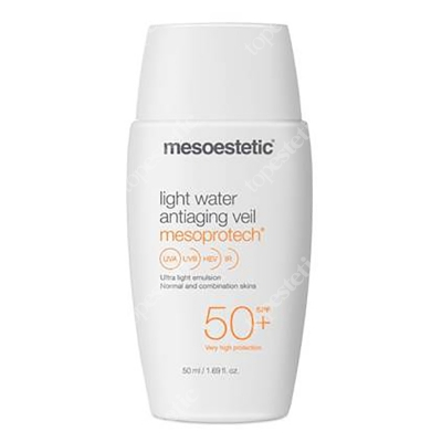 Mesoestetic Mesoprotech Light Water Antiaging Veil SPF 50+ Ultralekki fluid anti-aging SPF50+ 50 ml