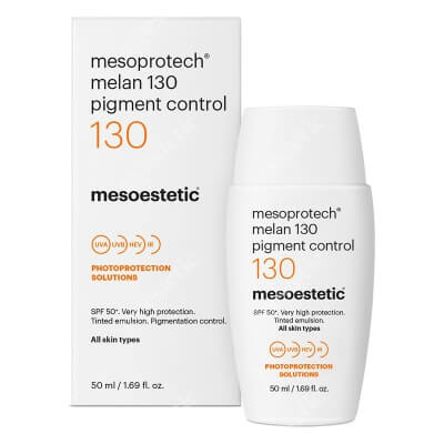 Mesoestetic Mesoprotech Melan 130+ Fluid koloryzujacy SPF50+ 50 ml