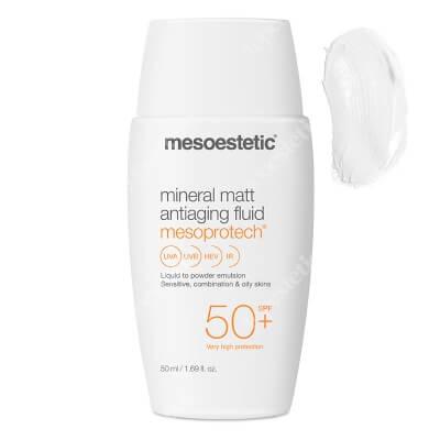 Mesoestetic Mesoprotech Mineral Matt SPF 50+ Mineralny fluid SPF50+ 50 ml