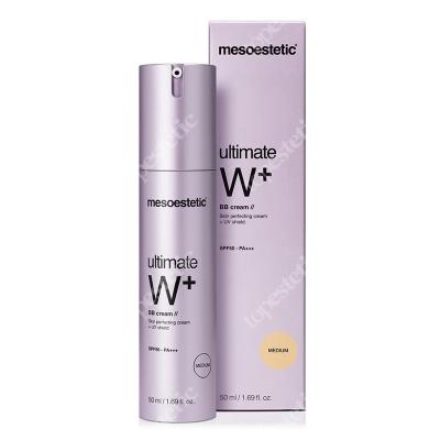 Mesoestetic Ultimate W+ Whitening Cream BB Medium Krem BB wyrównujący koloryt - kolor Medium 50 ml