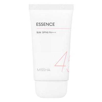 Missha All Around Safe Block Essence Sun SPF45/PA+++ Nawilżająca esencja ochronna dla skóry ze skłonnościami do podrażnień 50 ml