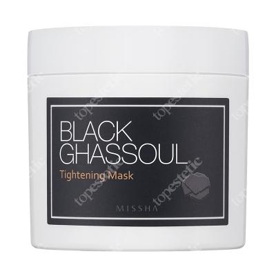 Missha Black Ghassoul Tightening Mask Maska pielęgnująca i zwężająca pory 95 g