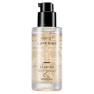 Missha Moist Layering Starter Gold Topping Odżywcza baza pod makijaż 30 ml