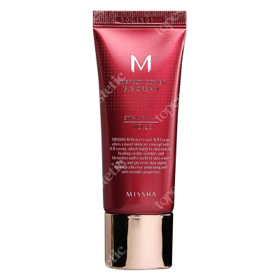 Missha Perfect Cover BB Cream SPF42/PA+++ No 23 Krem BB chroniący przed promieniami UV (kolor Natural Beige) 20 ml