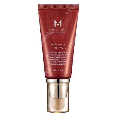 Missha Perfect Cover BB Cream SPF42/PA+++ No 25 Krem BB chroniący przed promieniami UV (kolor Warm Beige) 50 ml