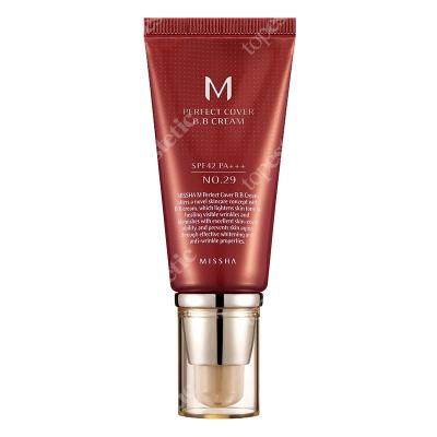 Missha Perfect Cover BB Cream SPF42/PA+++ No 29 Krem BB chroniący przed promieniami UV (kolor Caramel Beige) 50 ml
