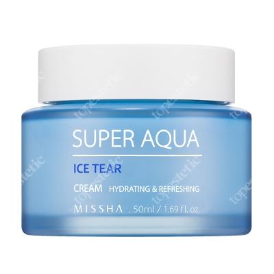 Missha Super Aqua Ice Tear Cream Lekki krem nawilżający 50 ml