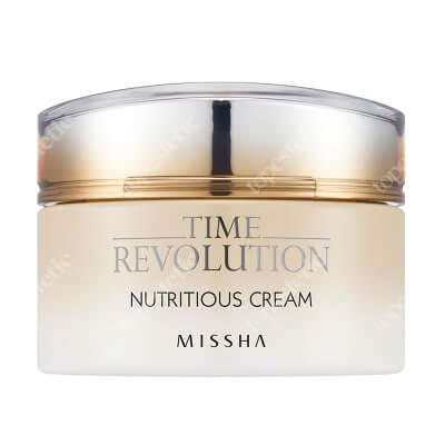 Missha Time Revolution Nutritious Cream Nawilżający krem na bazie czarnej soczewicy 50 ml