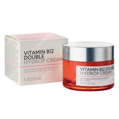 Missha Vitamin B12 Double Hydrop Concentrate Cream Multiwitaminowy, silnie skoncentrowany krem o działaniu nawilżającym 50 ml