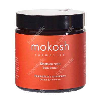 Mokosh Body Butter Orange&Cinnamon Masło do ciała, Pomarańcza z cynamonem 120 ml