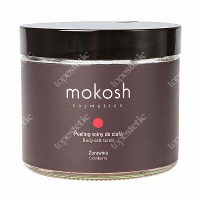 Mokosh Body Salt Scrub Cranberry Peeling solny do ciała żurawina 300 g