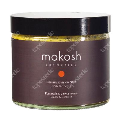 Mokosh Body Salt Scrub Orange&Cinnamon Peeling solny do ciała, Pomarańcza z cynamonem 300 g