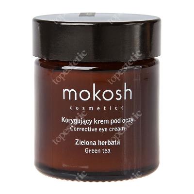 Mokosh Corrective Eye Cream Green Tea Korygujący krem pod oczy - zielona herbata 30 ml