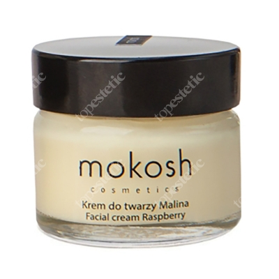 Mokosh Facial Cream Raspberry Regenerujący krem do twarzy - Malina 15 ml