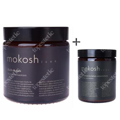 Mokosh Icon Set ZESTAW Masło wanilia z tymiankiem 120 ml + Balsam wanilia z tymiankiem 30 ml