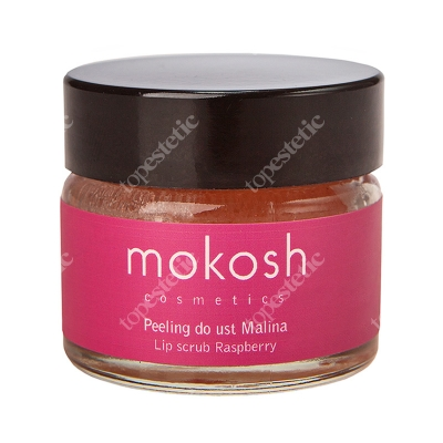 Mokosh Lip Scrub Raspberry Peeling do ust - malina 15 ml