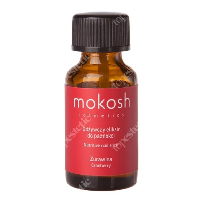 Mokosh Nutritive Body Elixir Cranberry MINI Odżywczy eliksir do paznokci - Żurawina 10 ml
