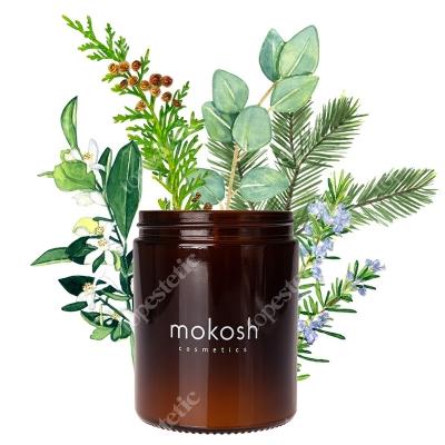 Mokosh Roślinna Świeca Sojowa Jodłowy bór 140 g