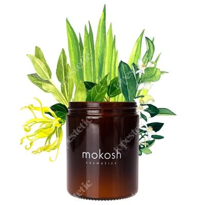 Mokosh Roślinna Świeca Sojowa Śródziemnomorski gaj 140 g