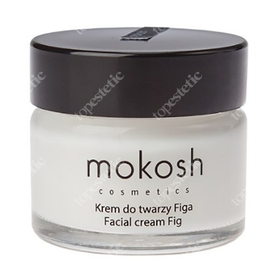 Mokosh Facial Cream Fig MINI Wygładzający krem do twarzy Figa 15 ml
