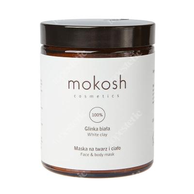 Mokosh White Clay Face & Body Mask Glinka biała, maska na twarz i ciało 180 ml